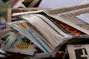 Papir og papp kildesortering