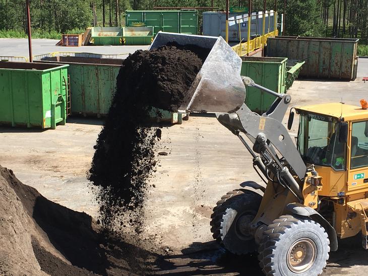 kompostjord