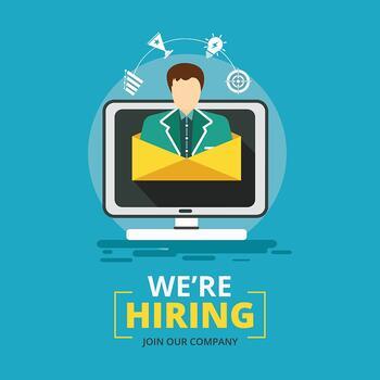 We`re hiring