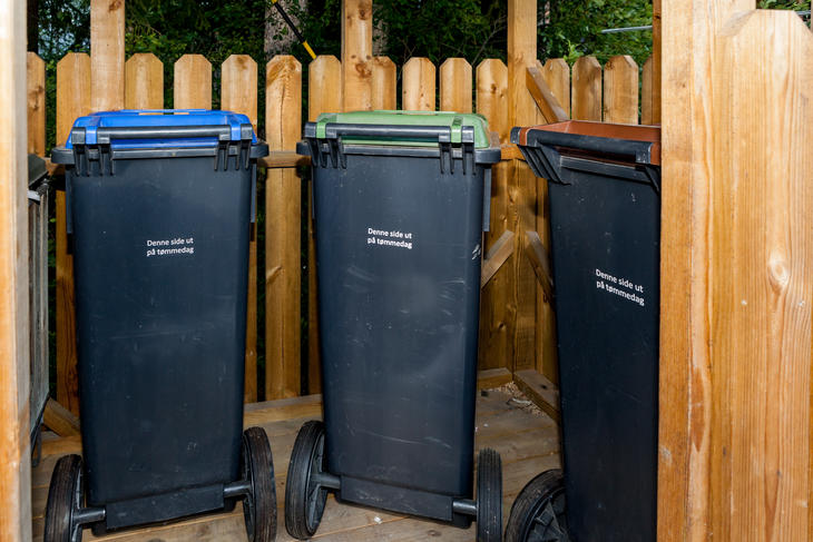 beholder kildesortering søppelkasse